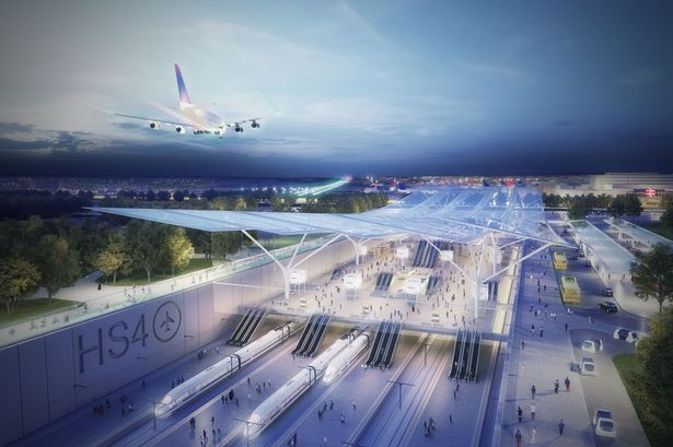 HS4Air: Proposed high speed rail link would cut through Surrey to link Heathrow and Gatwick