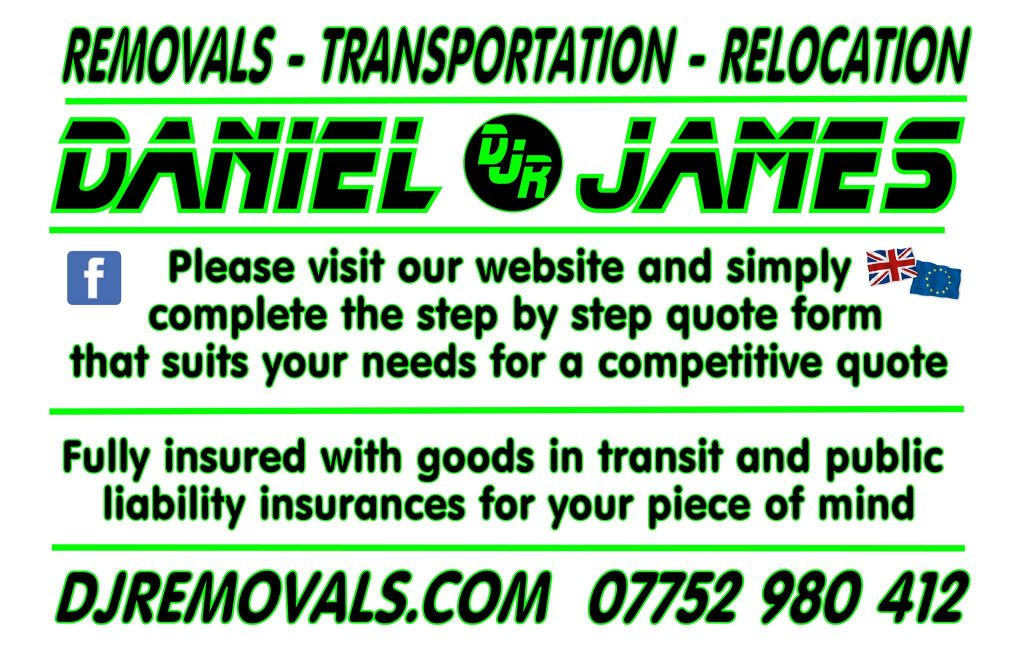 Daniel James Removals