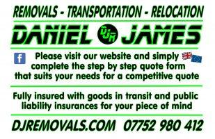 Daniel James Removals