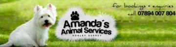 Amanda's Animal Services