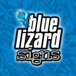 Blue Lizard Signs