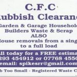 C.F.C Rubbish Clearence